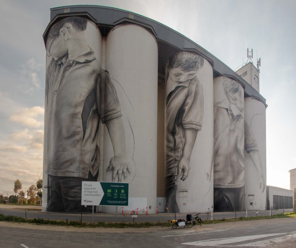 Coonalpyn Silo Mural