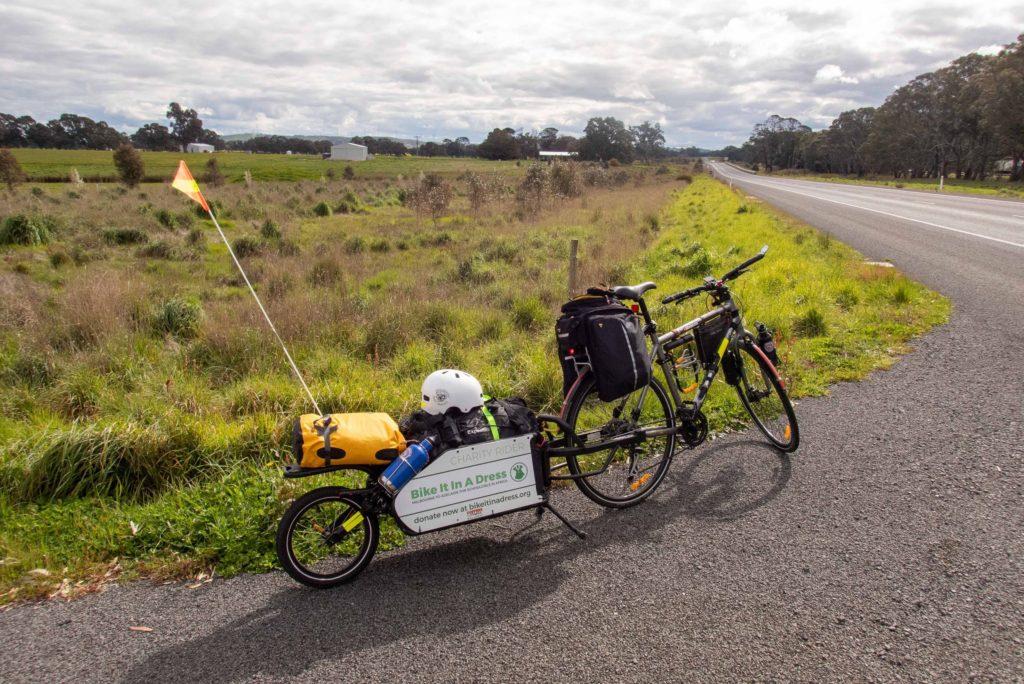 Rest stop on the Western Highway between Ballarat and Ararat